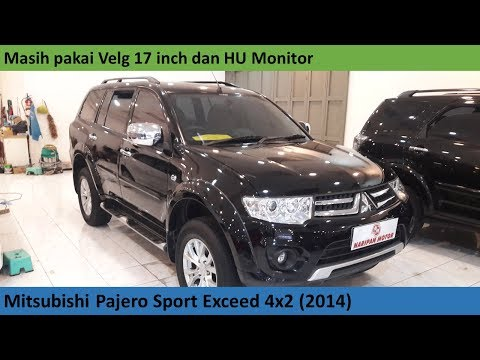Mitsubishi Pajero Sport Exceed Facelift (2014) review - Indonesia