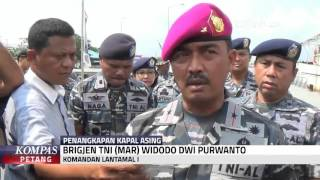 TNI AL Tangkap Kapal Buronan Interpol