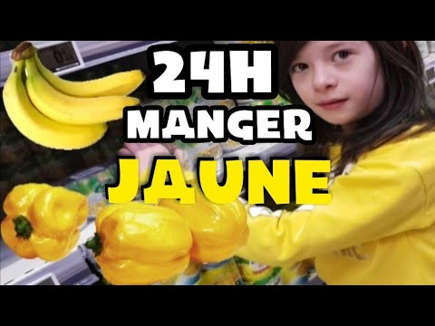 ON MANGE JAUNE PENDANT 24H