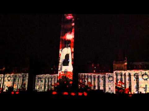 Parliament Light Show