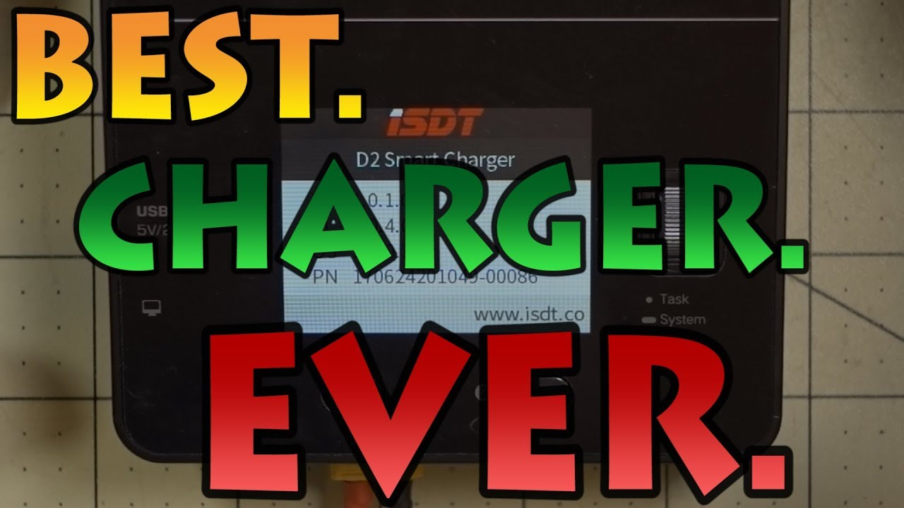 ⚡ iSDT D2 Charger ⚡? Best Charger Ever ???