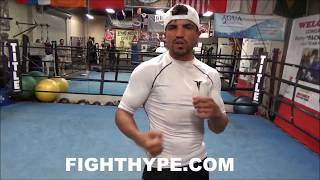 VICTOR ORTIZ INSISTS MCGREGOR WILL HAVE NO SOUTHPAW ADVANTAGES VS. MAYWEATHER; EXPLAINS WHY NOT