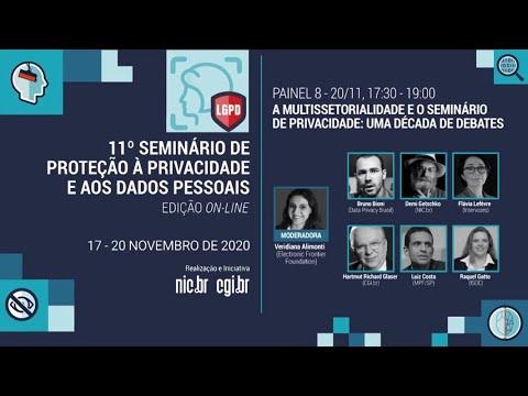 [11° Seminário de Privacidade] A multissetorialidade e o Seminário de Privacidade: uma década de debates