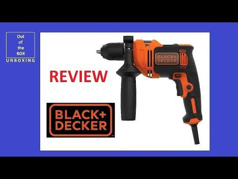 BLACK+DECKER BEH710K-QS Taladro Percutor con cable 710W REVIEW