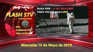 15/05 FLASH STV - ACTUALIZACIÓN SOLAR Y SÍSMICA - VOLVER A LA LUNA