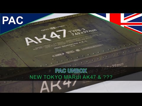 PAC UNBOX the NEW Tokyo Marui AK47 Type 3 Next Gen and Mystery Box