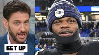 Take the MVP trophy to Lamar Jackson's house, the debate is over! - Mike Greenberg | Get Up