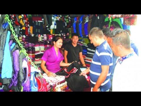 Street Shops in India - Tibetan Refugees Market ( Himalyan Buddhist Market ) - India