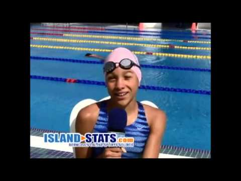 Swimming Carifta 2014 Ashley Irby
