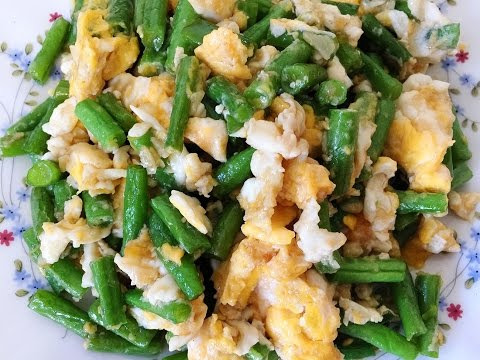 How To Make Quick & Easy Green Beans Stir-Fry With Eggs Recipe