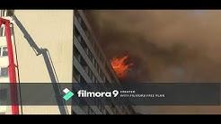Keskuskartanon tulipalo 15.5.Pori