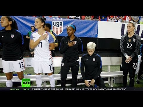 Trump fires back at Rapinoe and USWNT Squad