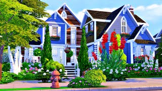 Suburban Family Home 🌹🌳 || The Sims 4 Speed Build (No CC)