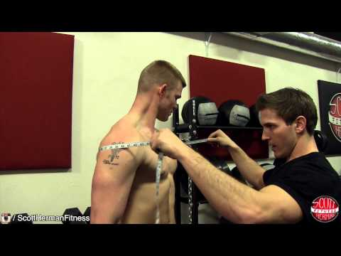 How To Measure Your Gains! Arm, Chest, Shoulder, Waist, Hip, Thigh, Forearm, Calf, & Neck!