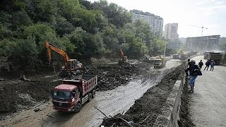 Тбилиси борется с последствиями наводнения