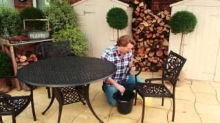 Caring for your Hartman Cast Aluminium Garden Furniture with David Domoney