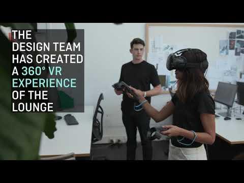 Qantas uses virtual reality to prepare new Singapore lounge