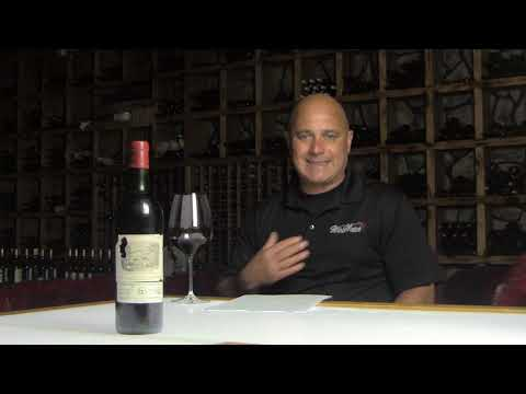 What I Drank Yesterday- Chateau Lafite Tasting at Wine Watch Wine Bar - click image for video