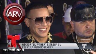 Así fue el estreno de la película de Héctor El Father | Al Rojo Vivo | Telemundo