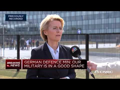 Russia gas pipeline does not compromise our security, German defense minister says | In The News
