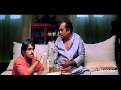 Ready Comedy | Brahmi worried about his powers | Ram | Genelia D Souza