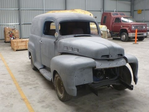 9d1e5a8a9d 1951 Ford Panel Truck Ford F100 Patina hot pickup SOLD!!! SOLD ...