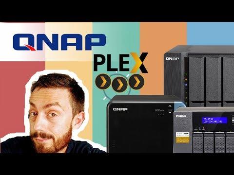 QNAP Plex Setup and Adding Media in 2019