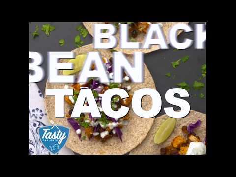 Cauliflower Black Bean Tacos