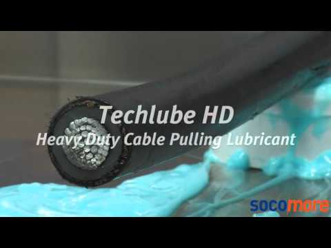 TECHLUBE PHD & HD Cable Pulling Lubricants - String & Cling Consistency