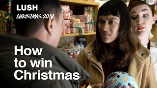 Lush Christmas 2018: We're Here to Help