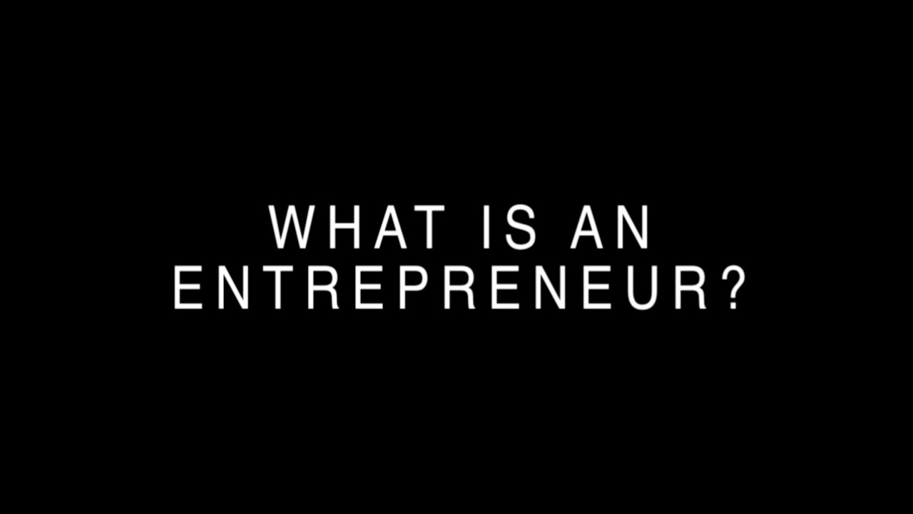 what is an entrepreneur How great entrepreneurs think think inside the (restless,  then she switched on a tape recorder and let the entrepreneur talk through the problems for two hours.
