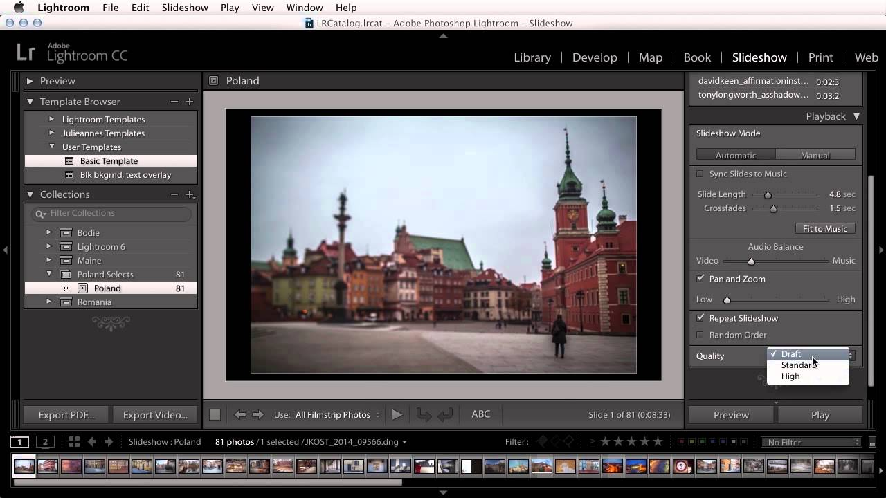 lightroom cc how to develop