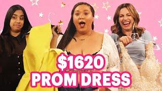 $18.50 Vs. $1620 Prom Dress