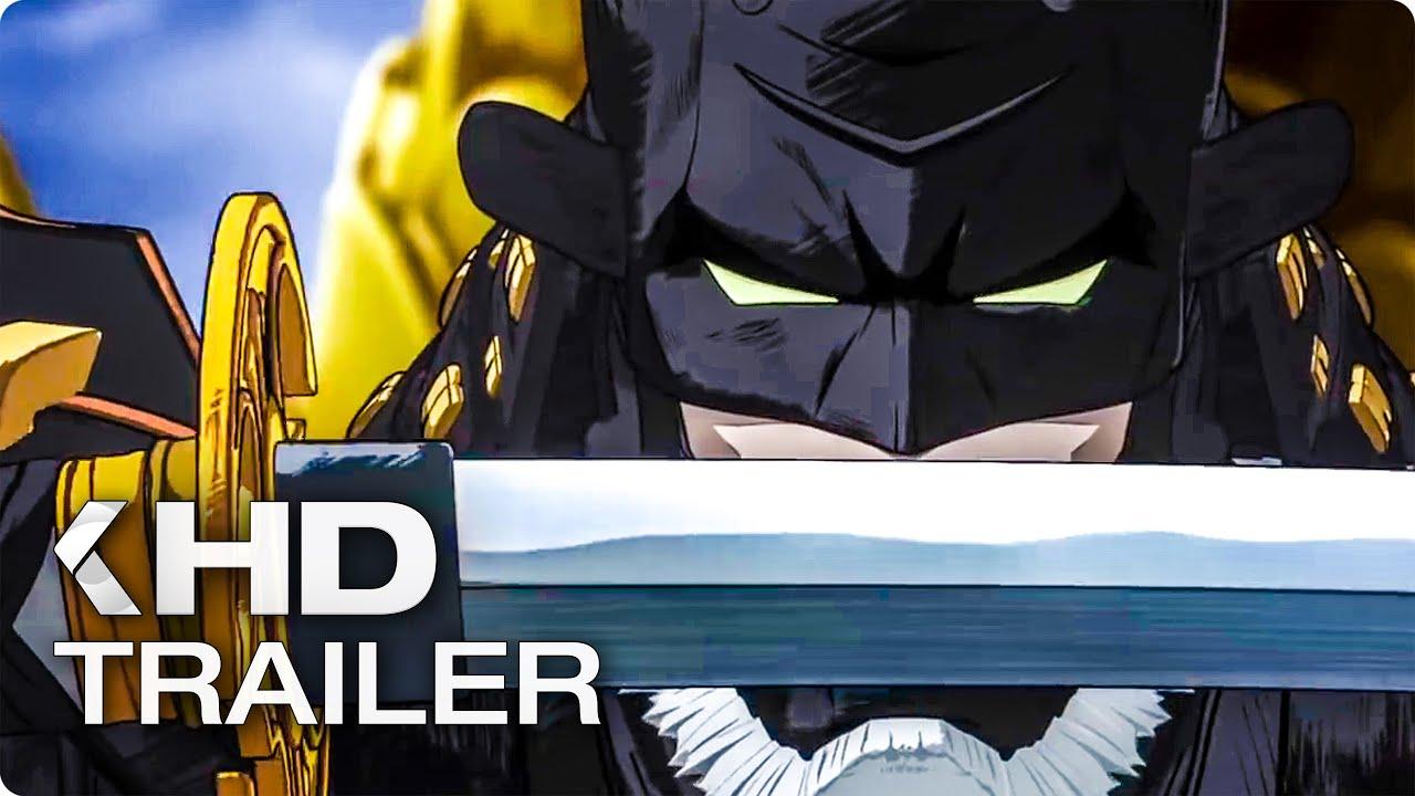 BATMAN NINJA English Trailer (2018)