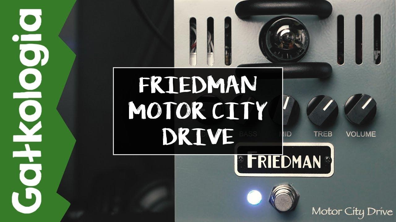 Friedman Motor City Drive [GAŁKOLOGIA]