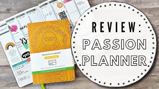 REVIEW: Passion Planner