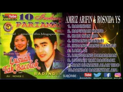INDANG PARIAMAN VOL 3 - AMRIZ ARIFIN - ROSNIDA YS - Lusuah Tak Bacolok - Full Album ( Lagu Minang )