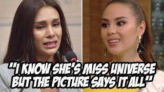 Thai beauty queen, umiiyak ng humingi ng tawad dahil sa ginawa niya kay Catriona Gray!