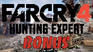 Far Cry 4 - Hunting Expert - Bonus! - LIZARD HUNTING