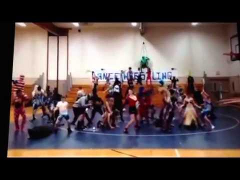 Lance Middle School Wrestling Harlem Shake