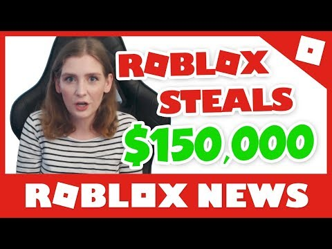 Roblox STEALS $150,000 From YouTuber!! #RobloxNews