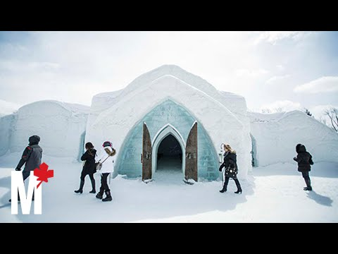 What It Feels Like To Stay At Quebec City S Ice Hotel