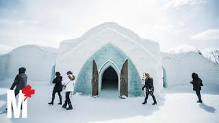 What it feels like to stay at Quebec City's Ice Hotel