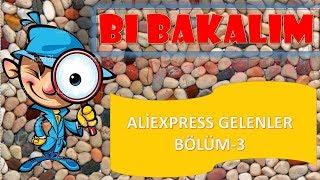 Aliexpress den gelen çuval dolusu ürün!! 3. Bölüm