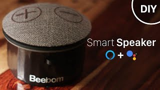 How to Build Smart Speaker with Google Assistant and Alexa (DIY)