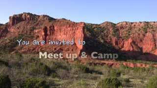 Meet Up & Camp At Caprock Canyons