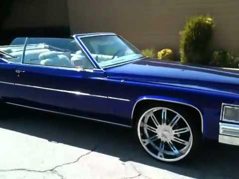 Candy Blue 1979 Cadillac Le Cabriolet Coup De Ville