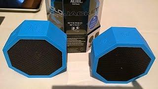 Unboxing Altec Waterproof Portable Speaker