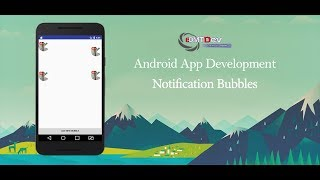 Android Studio Tutorial - Notification Bubbles like Facebook Messenger