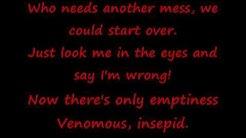 Slipknot Psychosocial lyrics